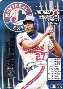 2001 MLB Showdown Vladimir Guerrero