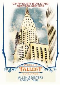 2012 Topps A&G Chrysler Building