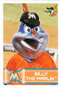 2014 Topps Stickers Billy The Marlin