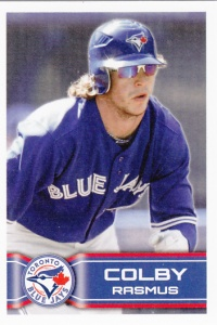 2014 Topps Stickers Colby Rasmus