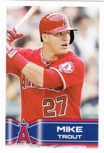 2014 Topps Stickers Mike Trout