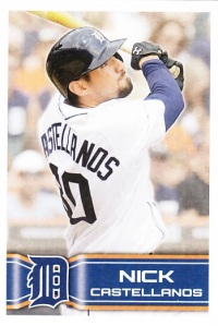 2014 Topps Stickers Nick Castellanos