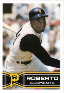 2014 Topps Stickers Roberto Clemente