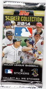 2014 Topps Stickers Wrapper
