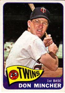 1965 Topps Don Mincher