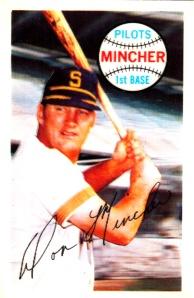 1970 Kellogg's Don Mincher