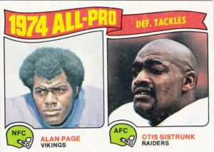 1975 Topps Football All-Pro DTs
