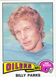1975 Topps Football Billy Parks