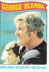 1975 Topps Football George Blanda