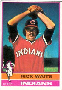1976 Topps Rick Waits