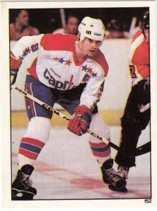 1982-83 Topps Hockey Stickers Ryan Walter