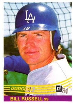 1984 Donruss Bill Russell