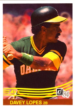 1984 Donruss Davey Lopes