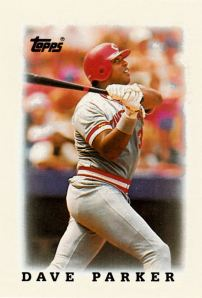 1988 Topps Leaders Minis Dave Parker