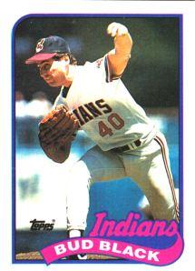 1989 Topps Bud Black