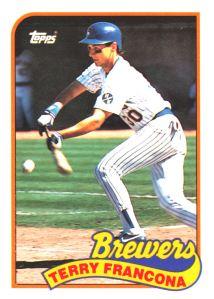 1989 Topps Traded Terry Francona