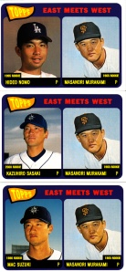2002 Topps East Meets West_0002