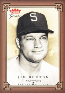2004 Fleer Greats Jim Bouton