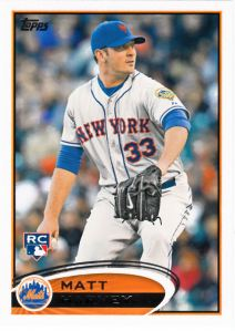 2012 Topps Update Matt Harvey