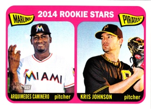 2014 Topps Heritage Caminero - Johnson