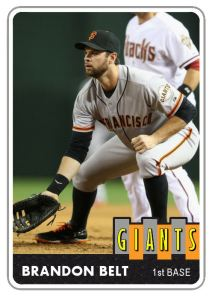 2014 TSR #186 Brandon Belt