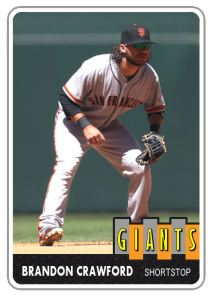 2014 TSR #187 Brandon Crawford