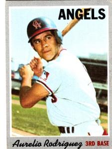1970 Topps Aurelio Rodriguez