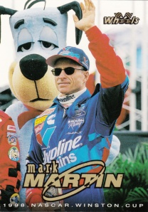 1998 Wheels Promo Mark Martin
