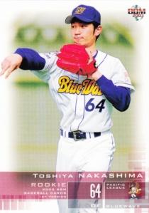 2003 BBM 1st Version Toshiya Nakashima