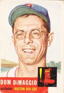 1953 Topps Dom DiMaggio