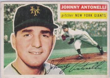 1956 Topps Johnny Antonelli