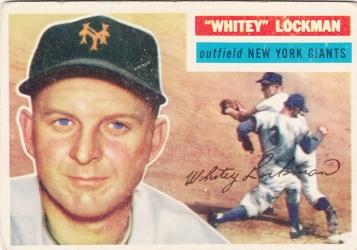 1956 Topps Whitey Lockman