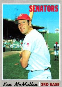 1970 Topps Ken McMullen