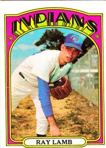 1972 Topps Ray Lamb