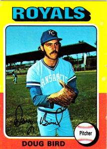 1975 Topps Doug Bird
