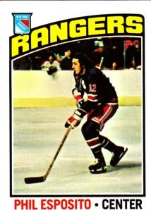 1976-77 Topps Hockey Phil Esposito
