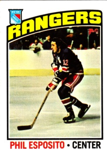 1976-77 Topps Hockey Phil Esposito
