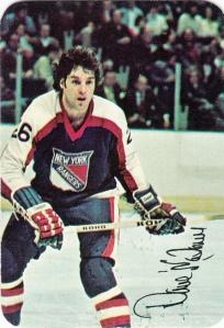 1977-78 Topps Hockey Glossy Dave Maloney
