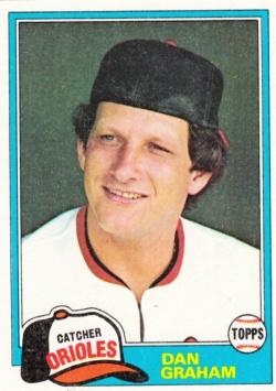 1981 Topps Dan Graham
