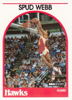 1989-90 NBA Hoops Spud Webb