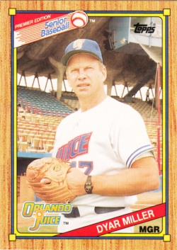 1989-90 Topps SPBA Dyar Miller