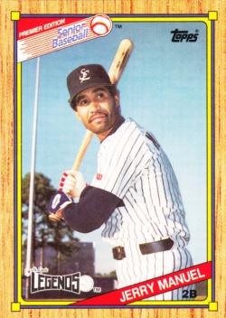 1989-90 Topps SPBA Jerry Manuel