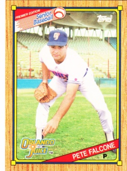 1989-90 Topps SPBA Pete Falcone