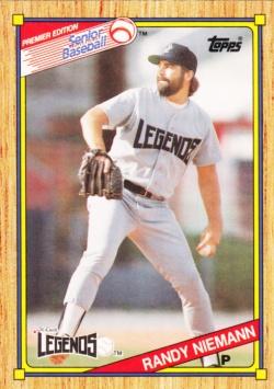 1989-90 Topps SPBA Randy Niemann