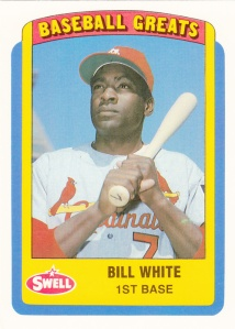 1990 Swell Baseball Greats Bill White