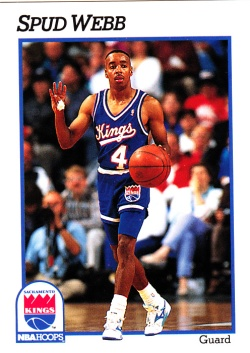 1991-92 NBA Hoops Spud Webb