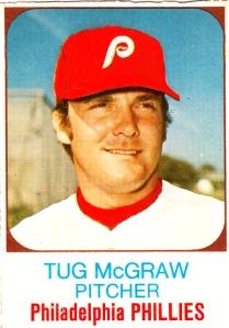 1975 Hostess Tug McGraw