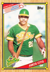 1989-90 Topps SPBA Amos Otis