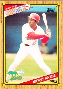 1989-90 Topps SPBA Mickey Rivers