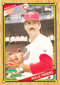 1989-90 Topps SPBA Rollie Fingers